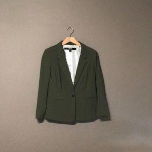 Green Kensi one button blazer size medium